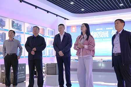 Li Xiangyang, Secretary of the Party Committee of Xiaoji Town, and related leaders of China Power Construction came to our company to visit and guide