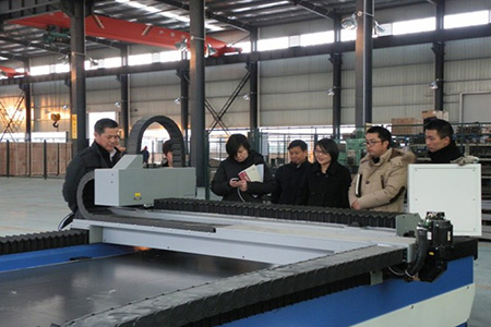 Leaders of Lei Shing Hong Machinery (Shanghai) Co., Ltd. visited our company